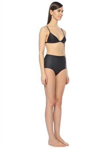 Matteau Swim Bikini Üst Siyah